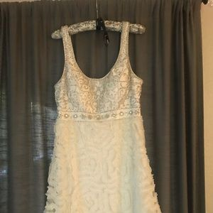 Sue Wong white dress